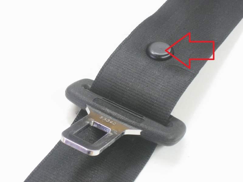 BMW Arrêt de boucle ceinture Bouton Clip pour Ceinture de sécurité